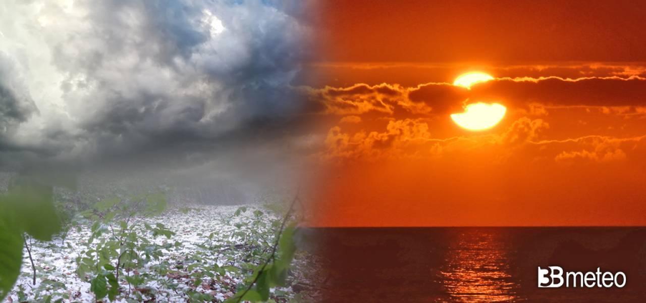 Prossima settimana tra caldo e temporali