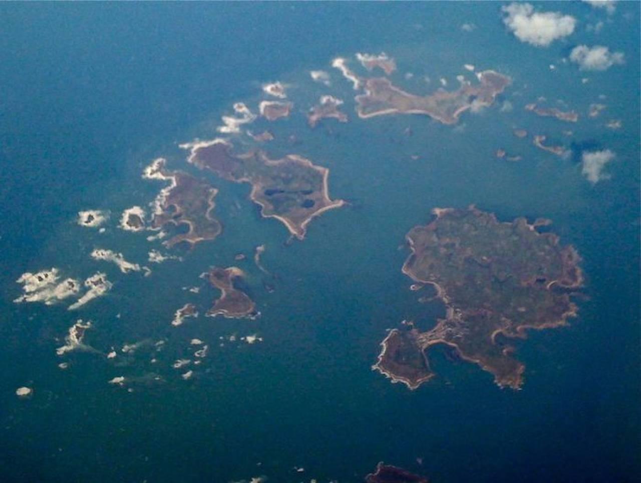 Quella che circa 4-5mila anni fa era una grande isola ora è un insieme di 140 isolotti
