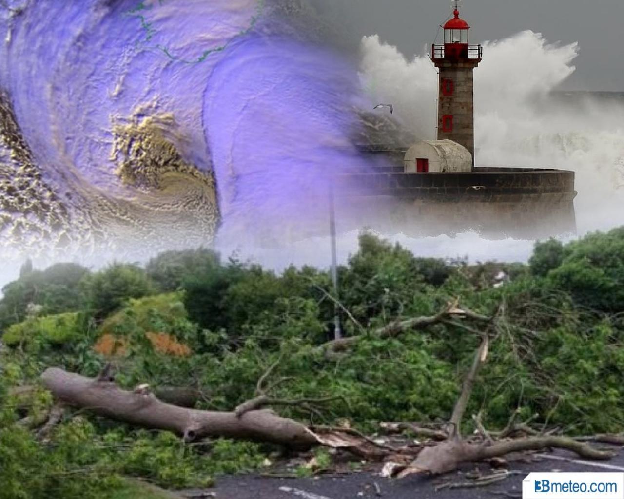 Regno Unito e Irlanda colpiti da un ciclone insolitamente potente per il periodo