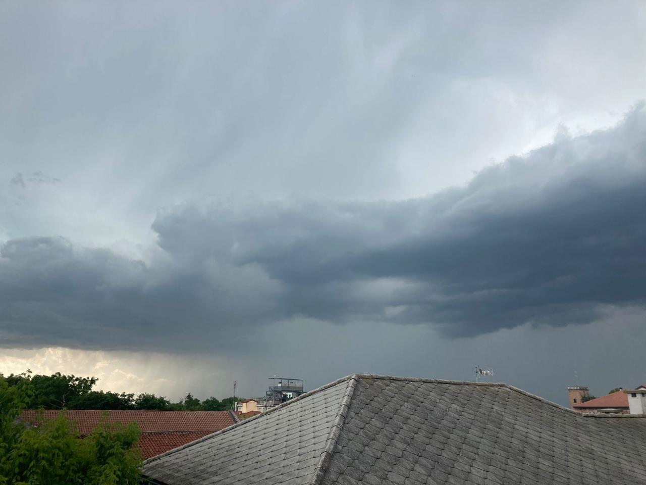 Rovigo, pomeriggio instabile e temporalesco