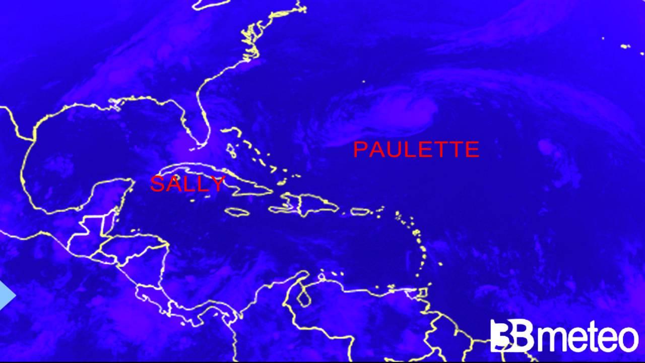 Sally e Paulette in Atlantico