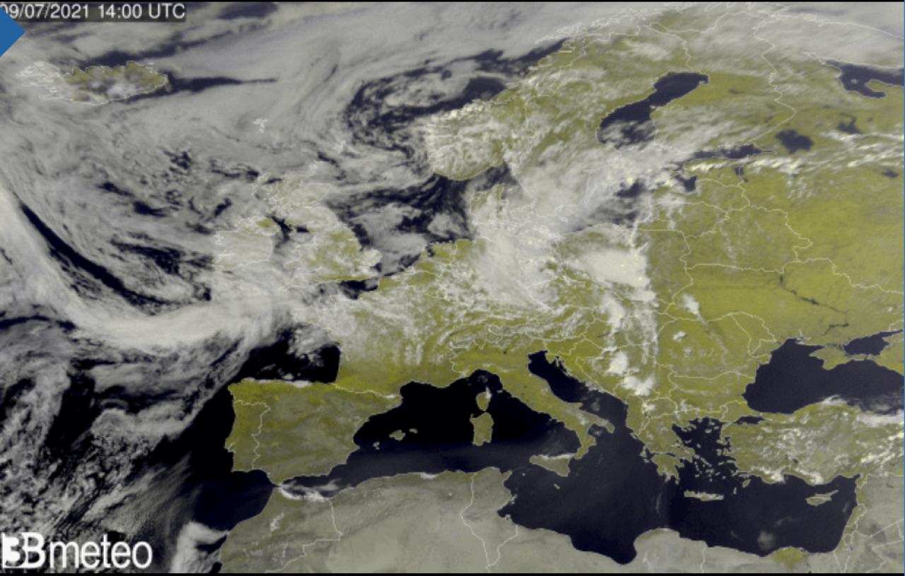 Satellite oggi Europa