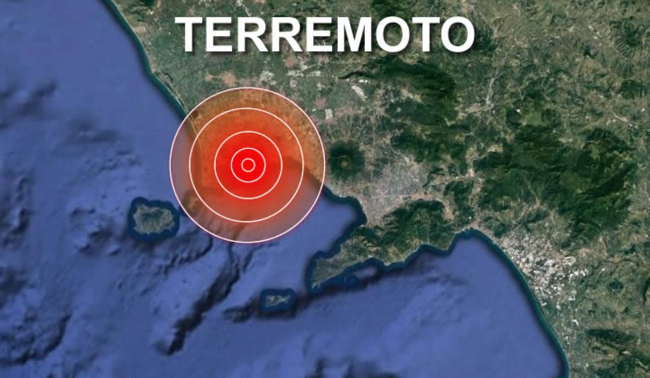 Scosse di terremoto a Pozzuoli la sera di lunedì 31 maggio