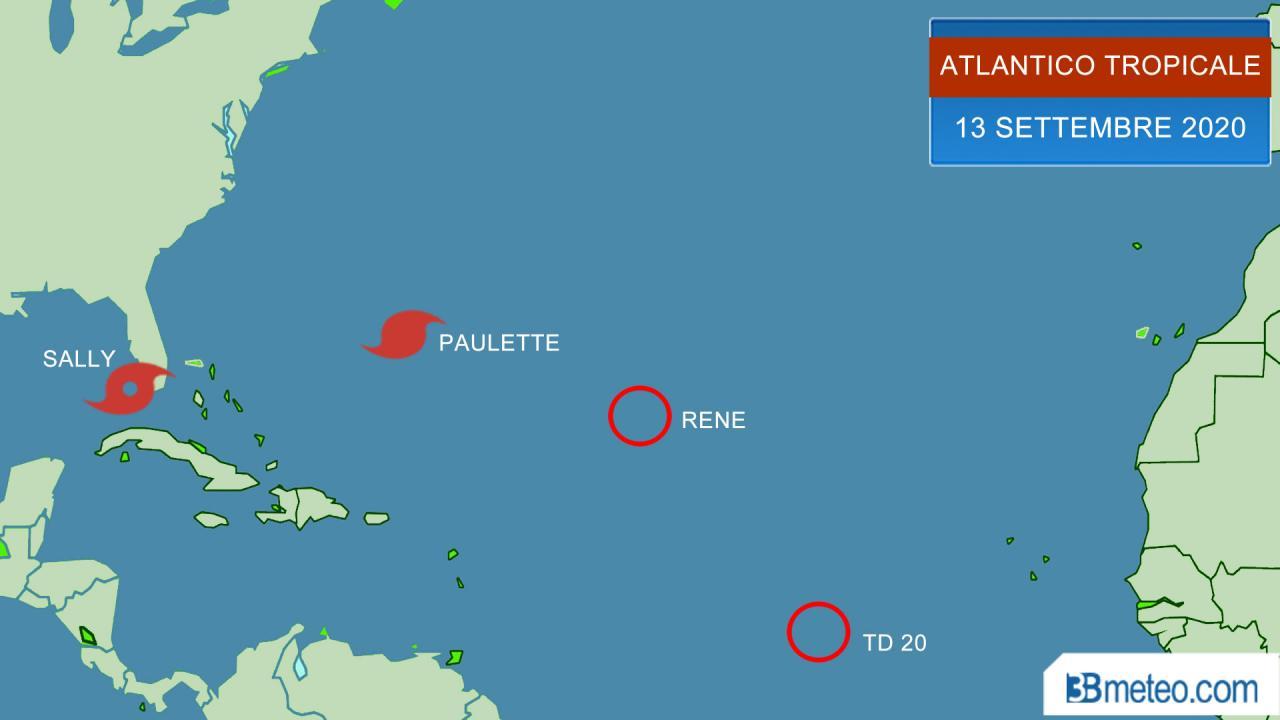 situazione atlantico tropicale
