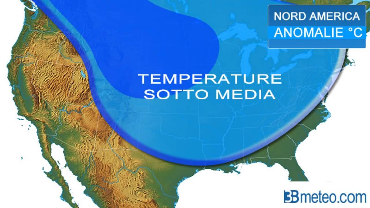 Meteo. Copertura nevosa emisfero Nord: prosegue il sopra media