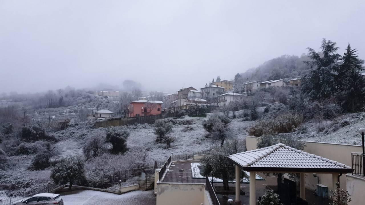 Spolverata nella provincia di Benevento
