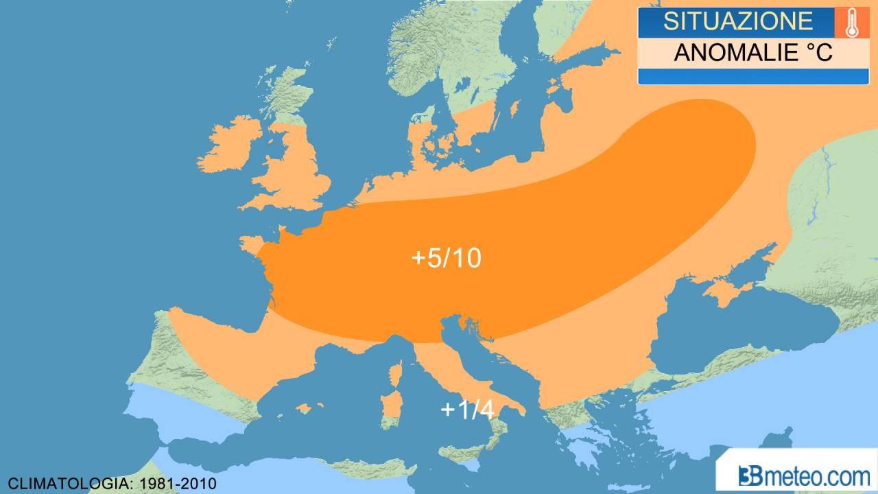 temperature da inizio estate per alcune nazioni del centro europa
