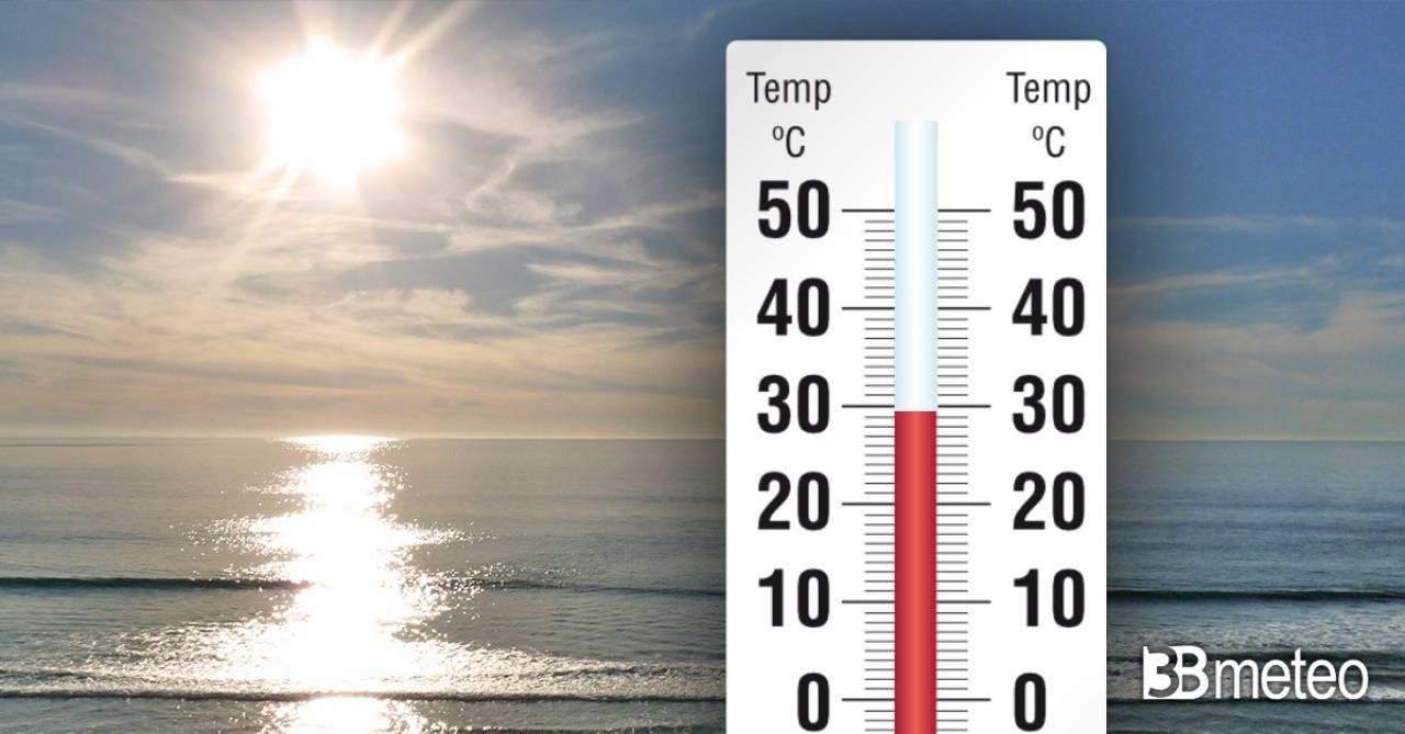 Temperature in aumento in settimana
