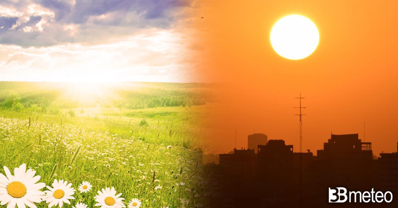 Temperature in aumento nel weekend con l'anticiclone africano