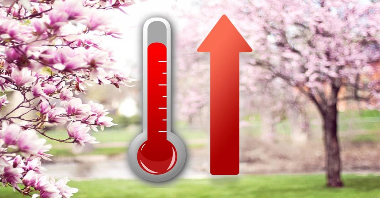 Temperature in aumento nella settimana di Pasqua