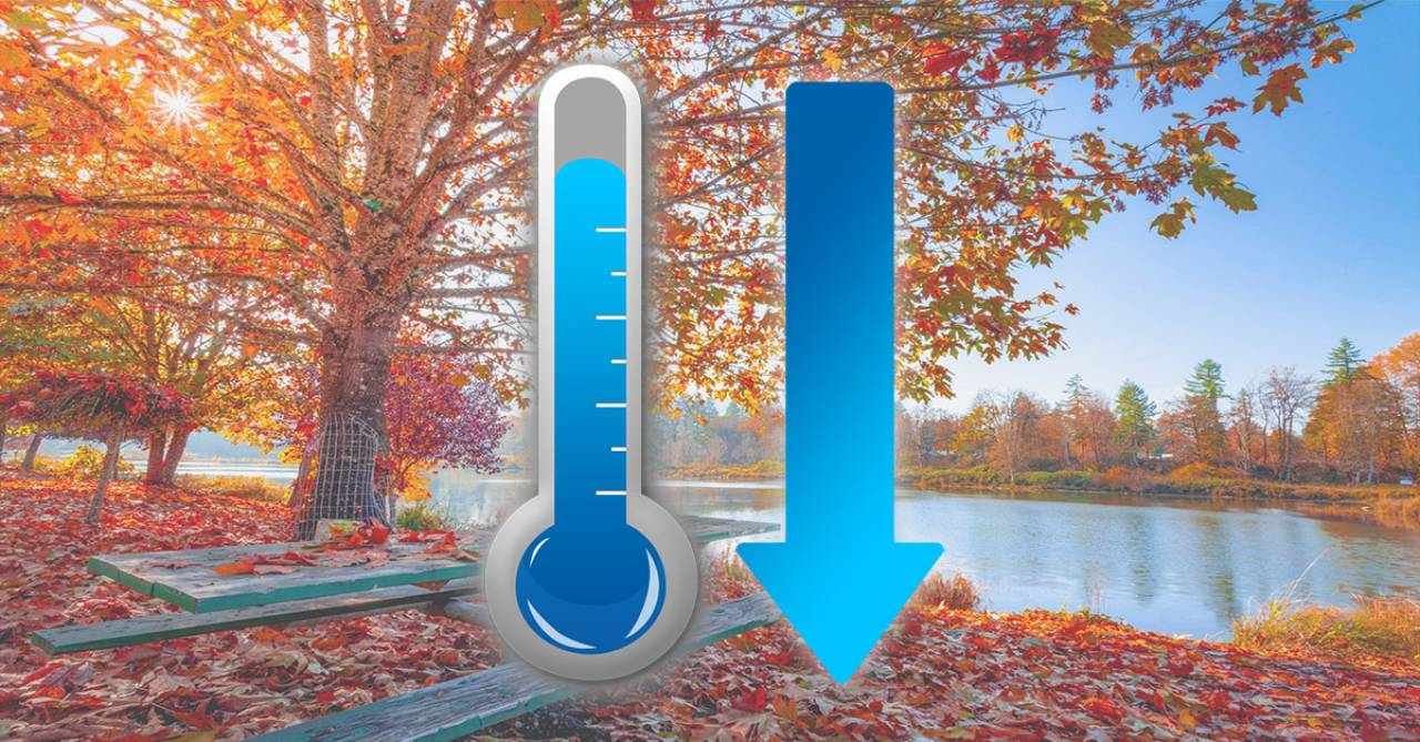 Temperature in brusca calo nel weekend