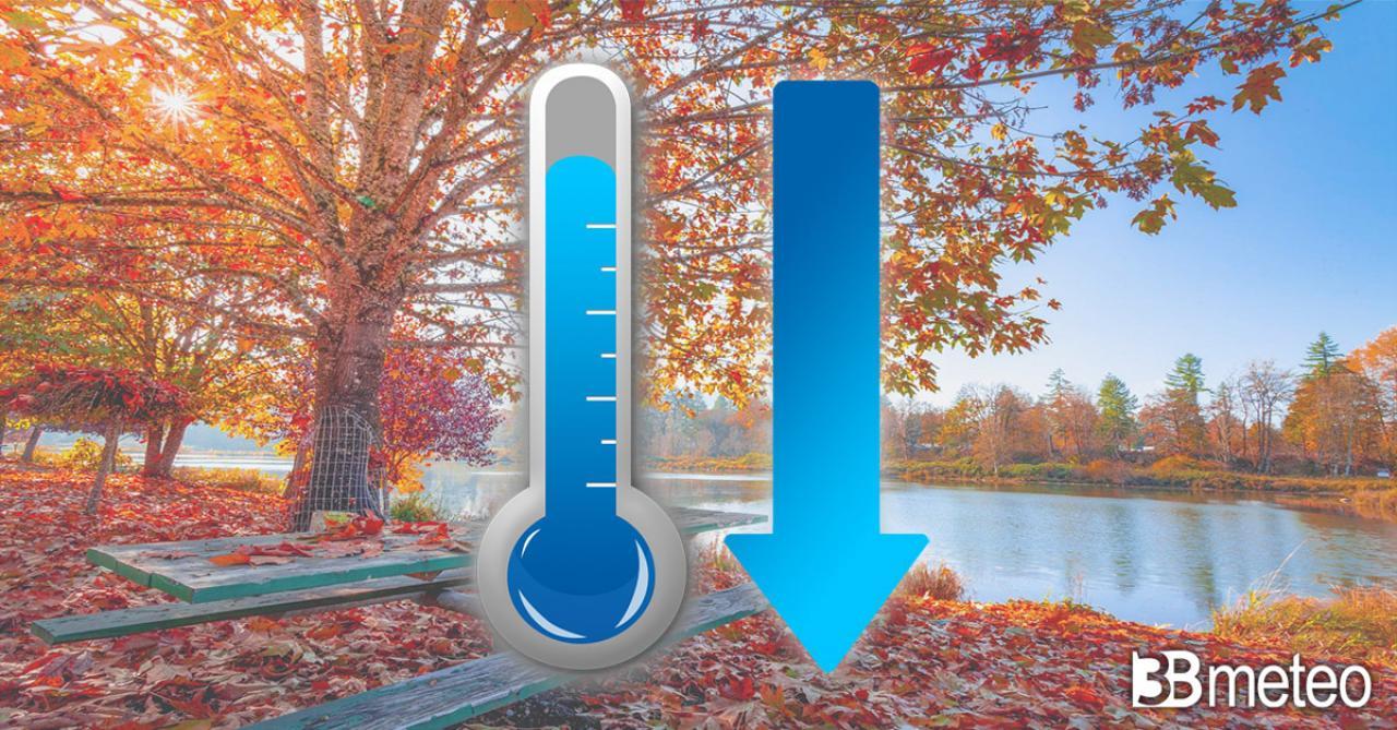 Temperature in calo a inizio settimana