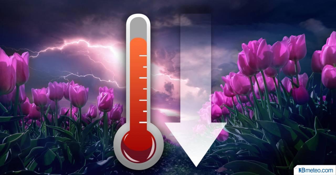Temperature in calo da venerdì