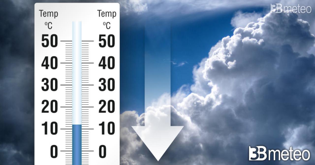 Temperature in calo tra domenica e inizio settimana