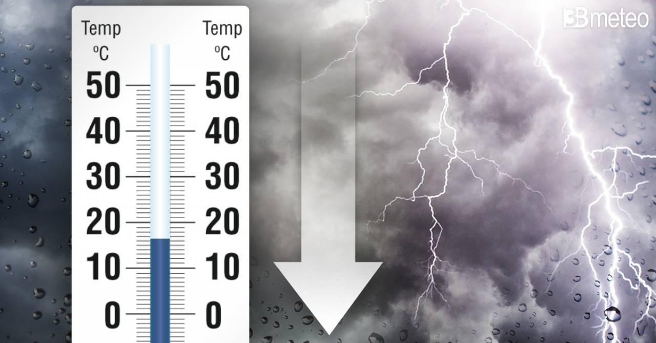 Meteo Italia - Temperature in picchiata di 10°C, poi nuovo aumento. Tutti i dettagli