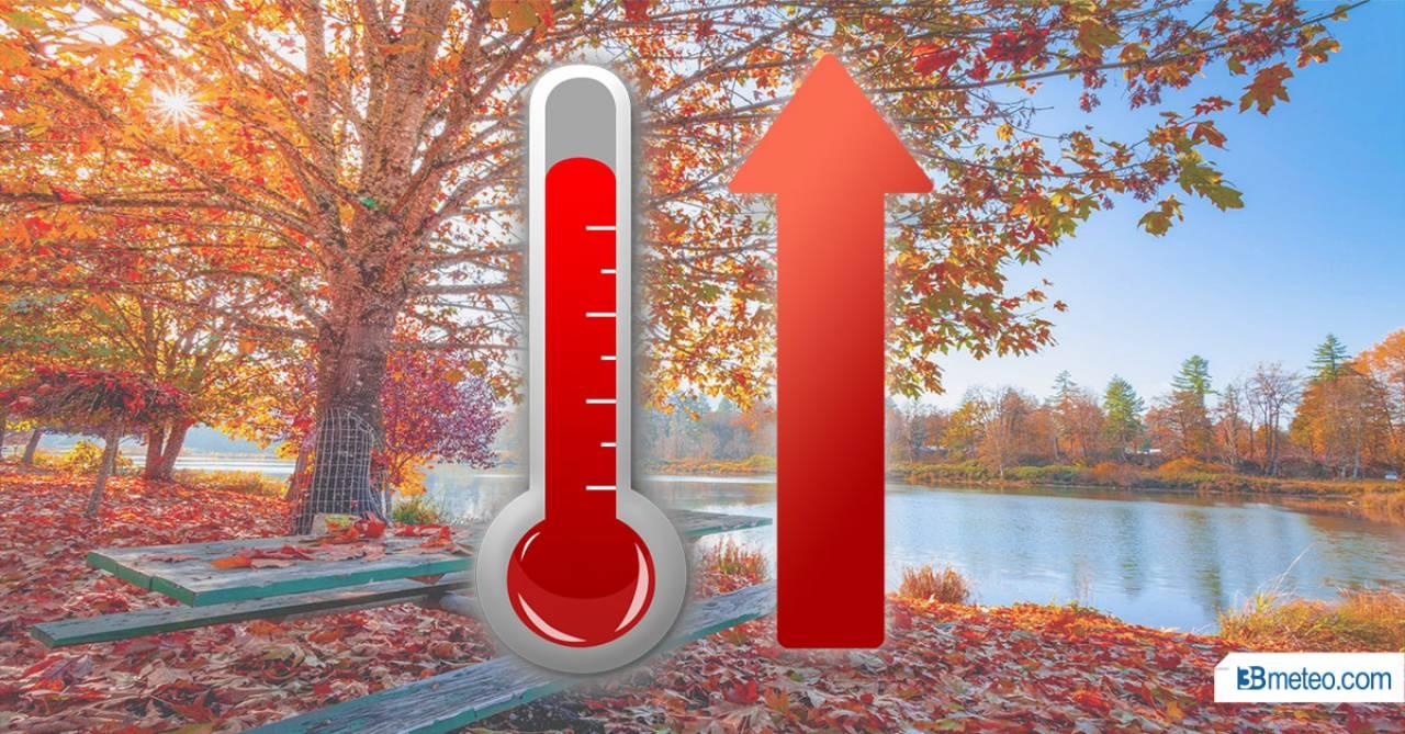 temperature in rialzo nella nuova settimana, anche sensibile in quota