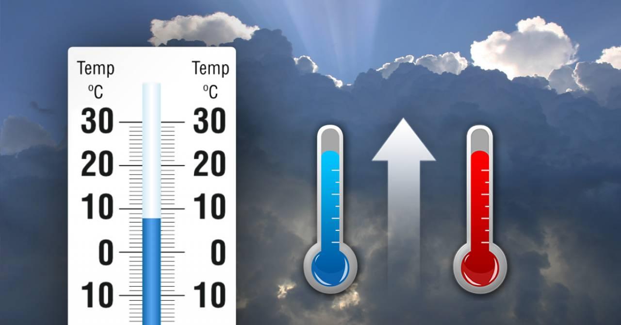 Temperature minime e massime in aumento nei prossimi giorni