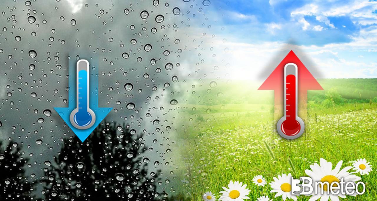 Temperature prossimi giorni, tra nuove diminuzioni e locali aumenti