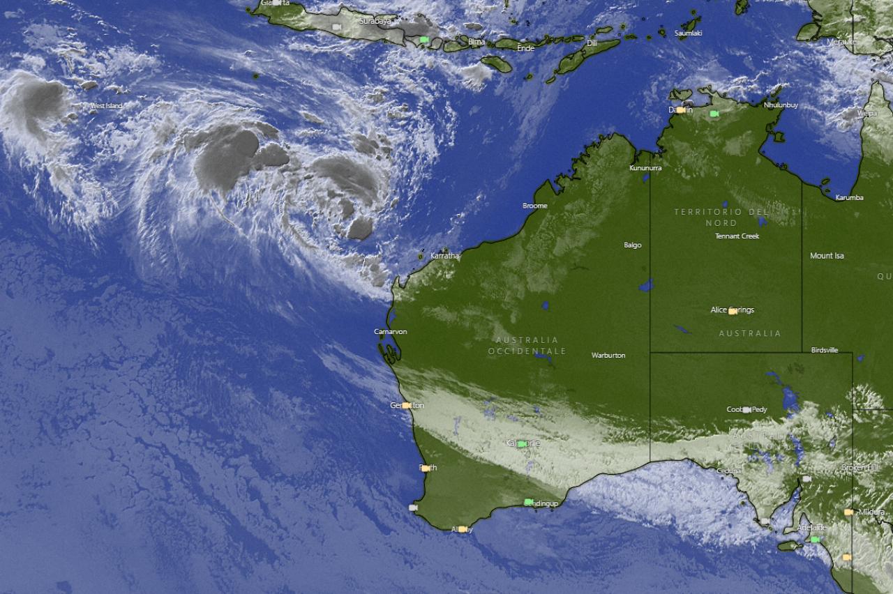 Tempesta tropicale punta l'Australia