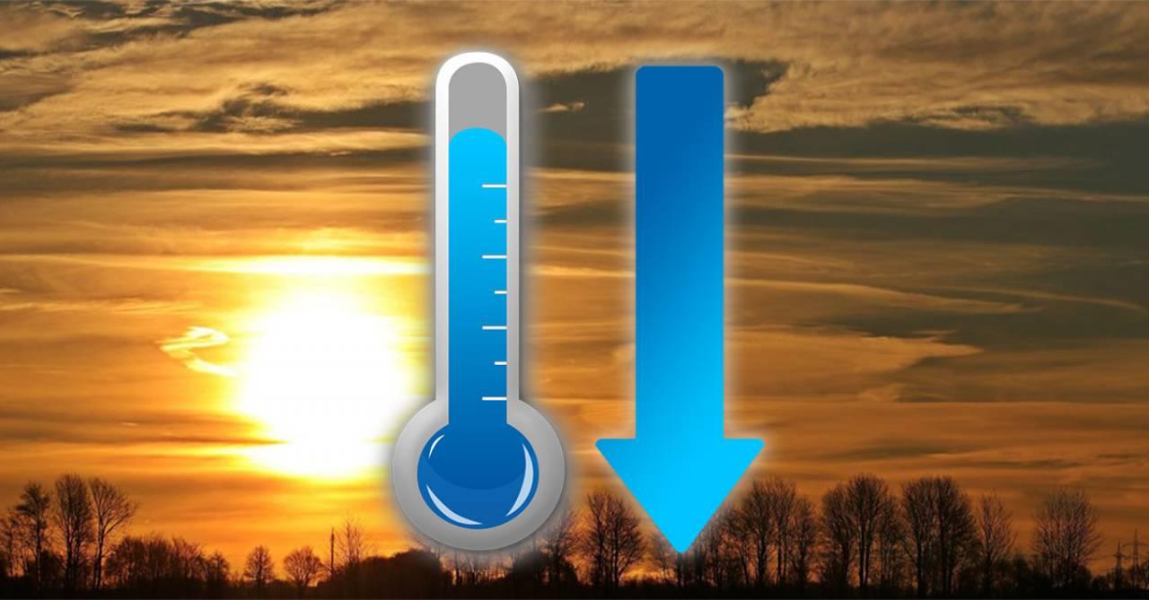 Temporaneo ma netto calo termico nel weekend