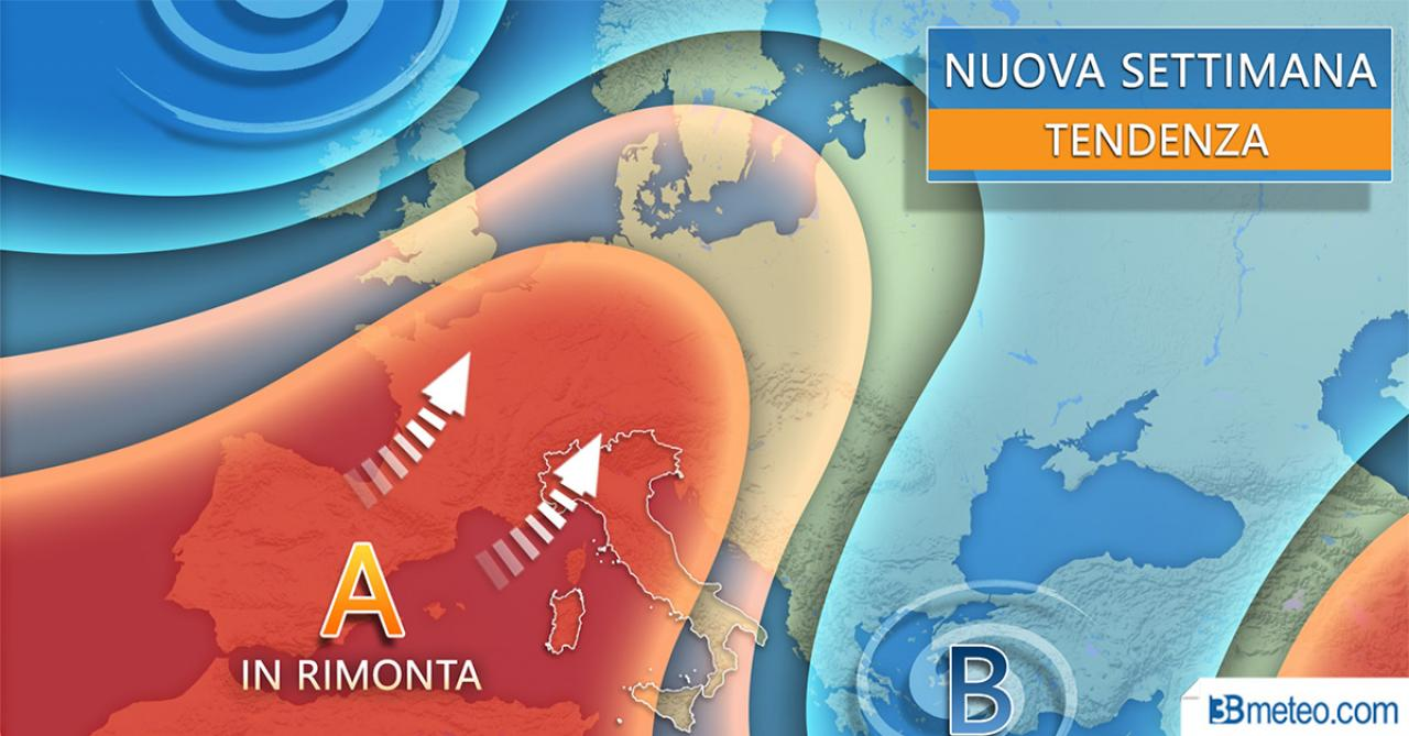 Tendenza meteo Italia