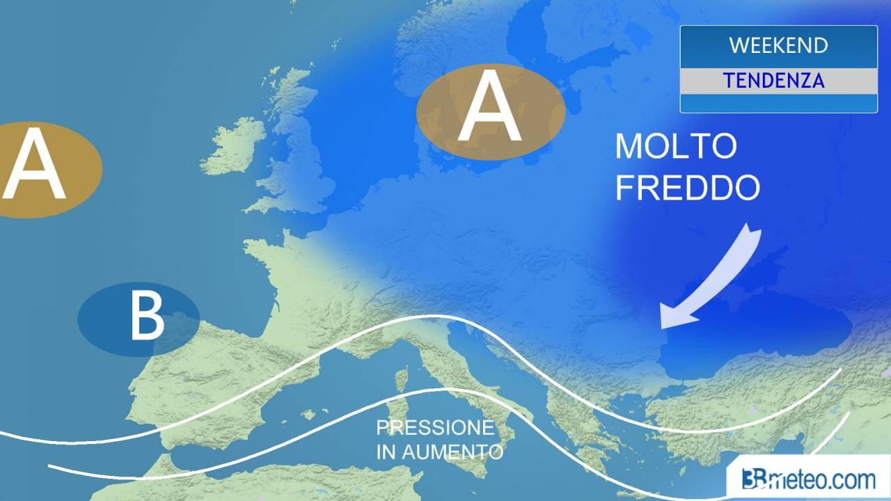 Meteo italia verso una fase pi stabile nel weekend 3b meteo - Meteo bagno di romagna 15 giorni ...