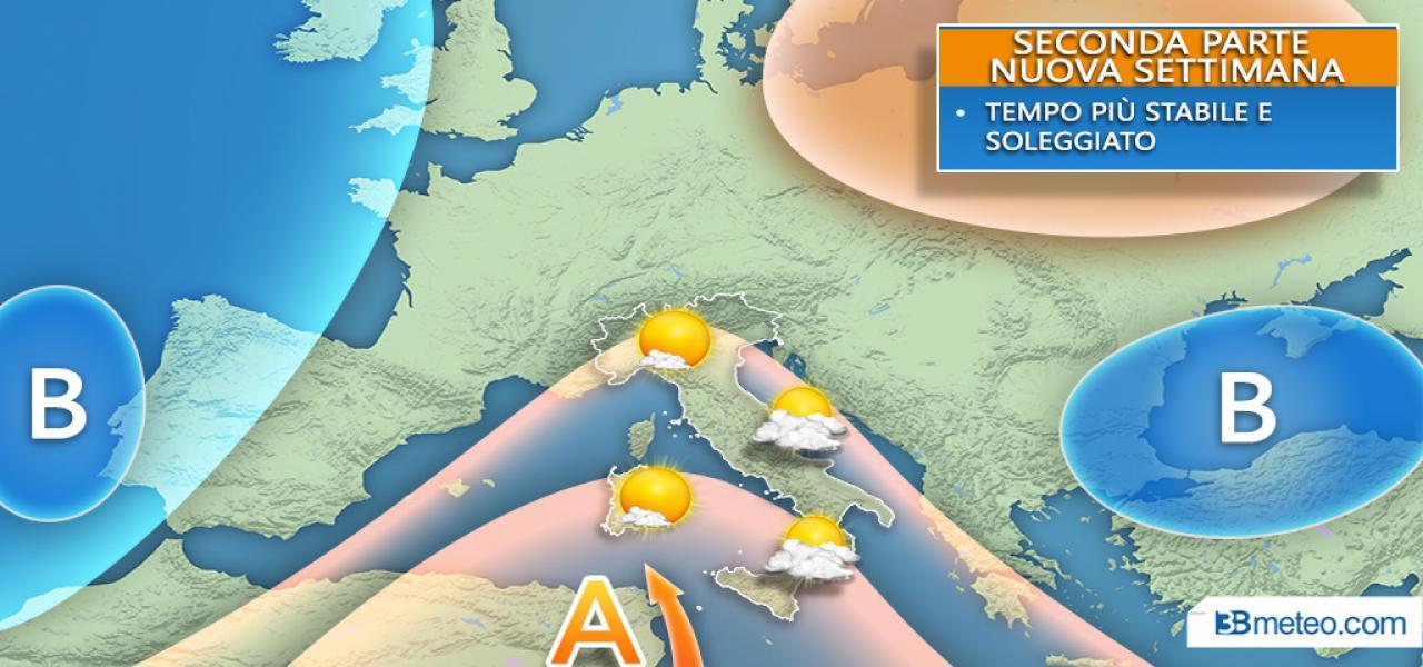 Meteo Italia - Altra pioggia nei prossimi giorni. A quando un miglioramento?