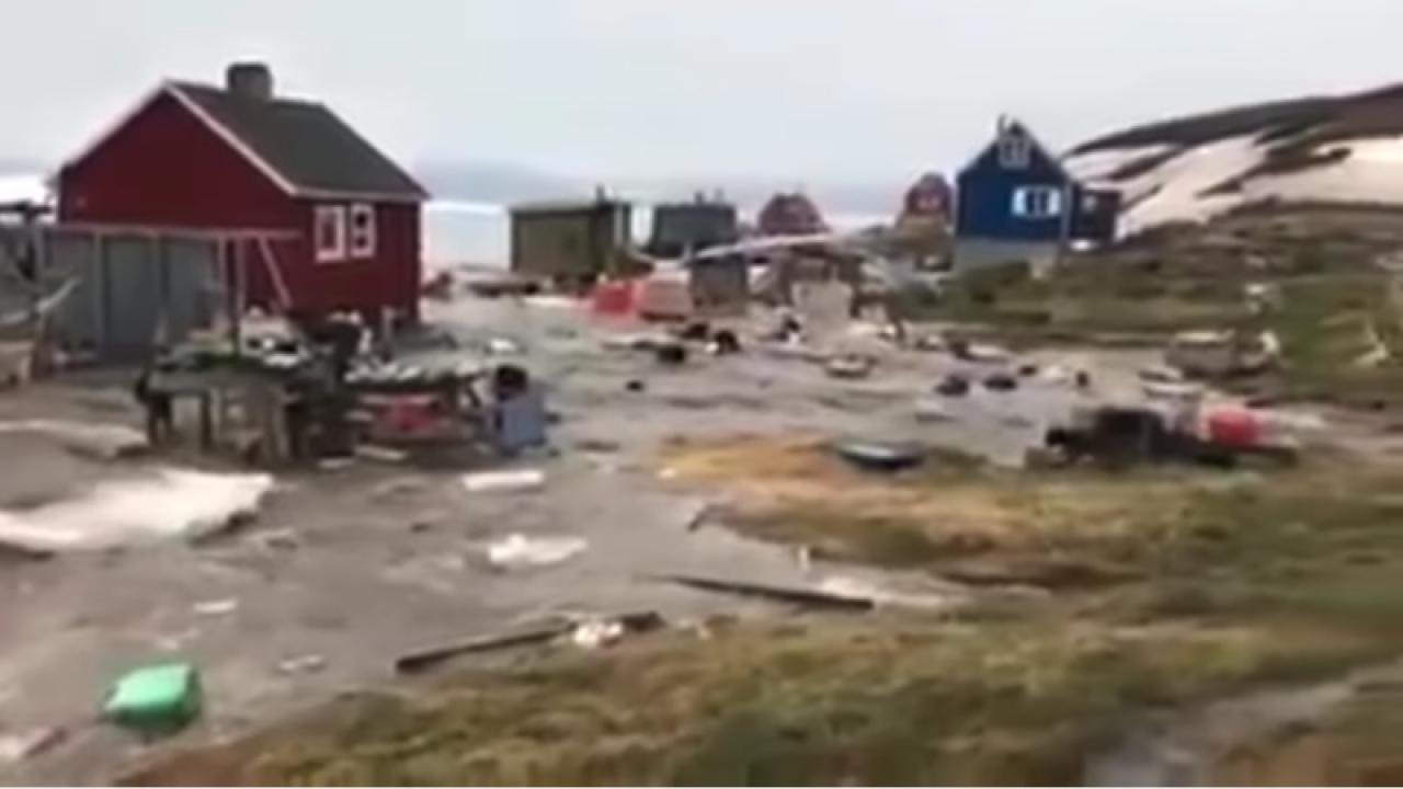 Terremoto in Groenlandia. Tsunami si abbatte su villaggio