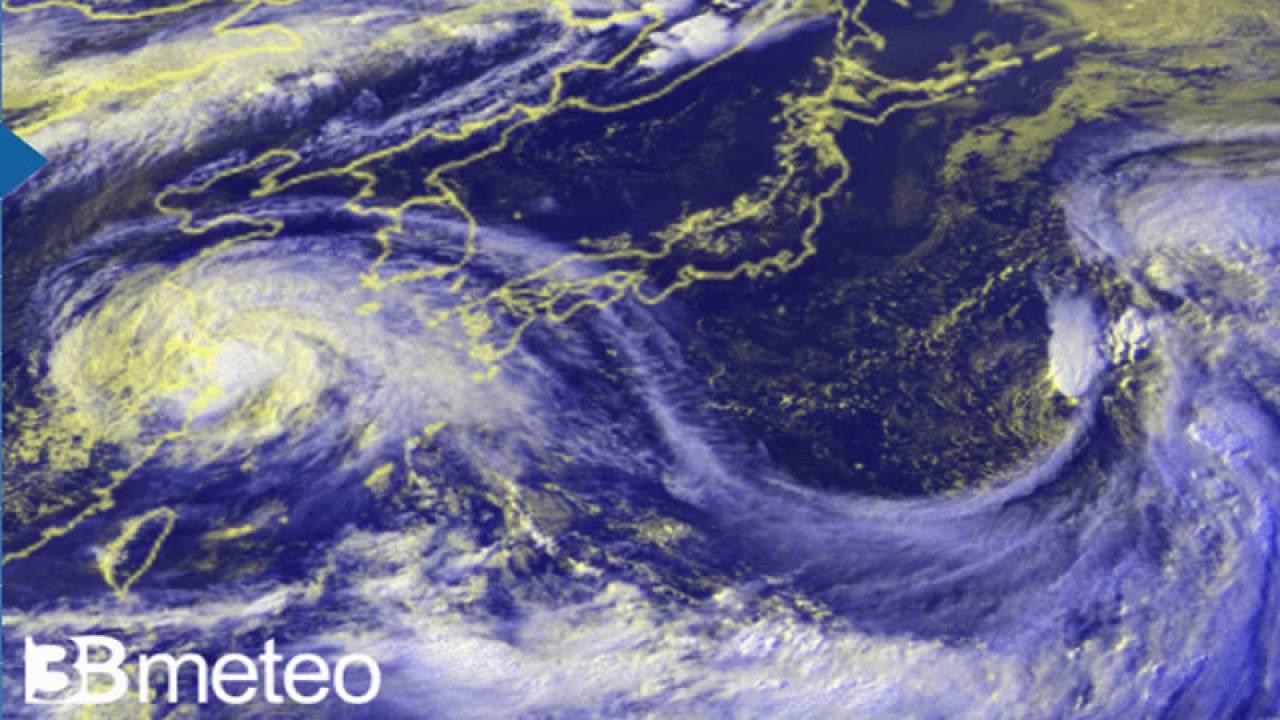 Tifone In-fa raggiunge la Cina