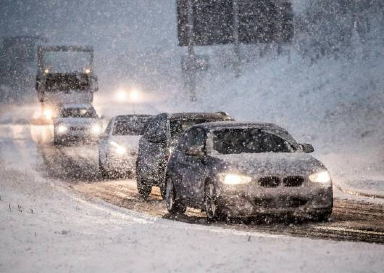 Torna l'inverno sull'Europa nordorientale