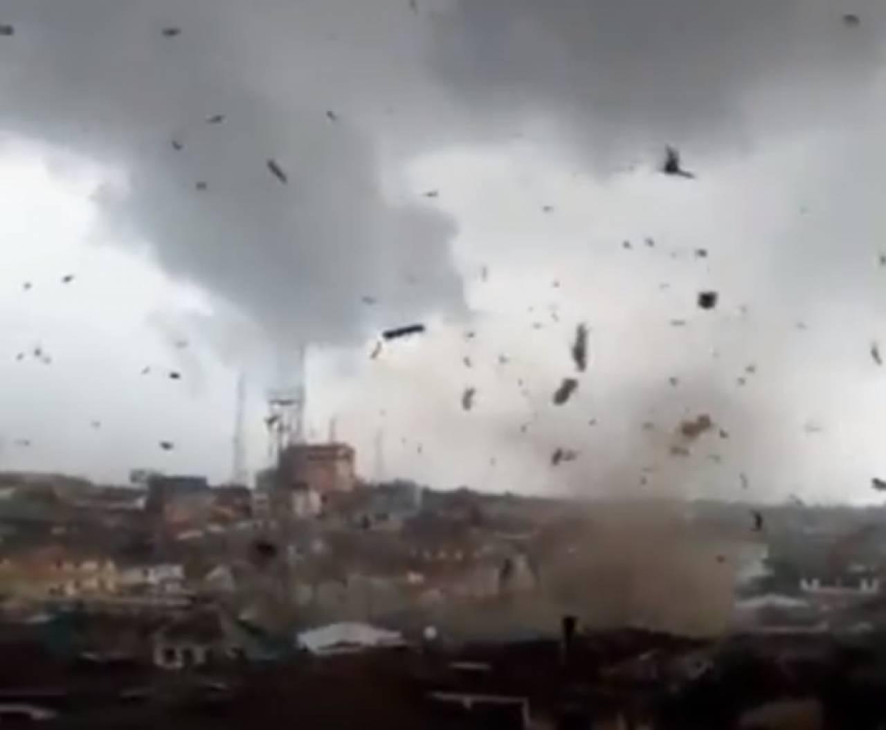 Africa - Tornado colpisce Ketu in Nigeria, molti danni. Tornado atipico anche in Guatemala. VIDEO