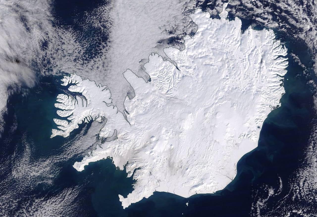 Un inverno particolarmente nevoso per l'Islanda