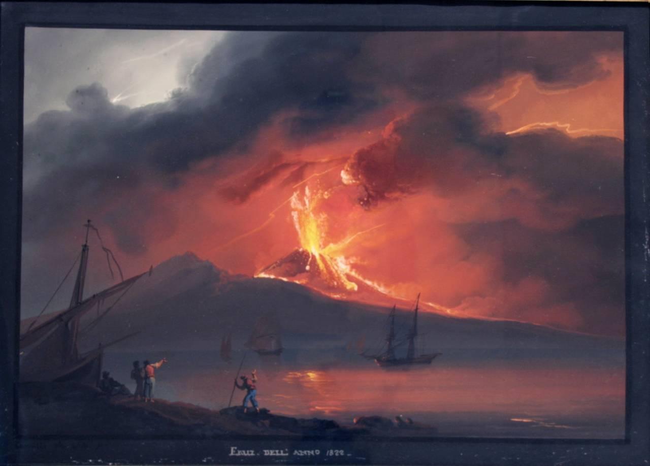 Napoli scoperti 6 nuovi vulcani vicino la costa i piani for Nuovi piani domestici di new orleans