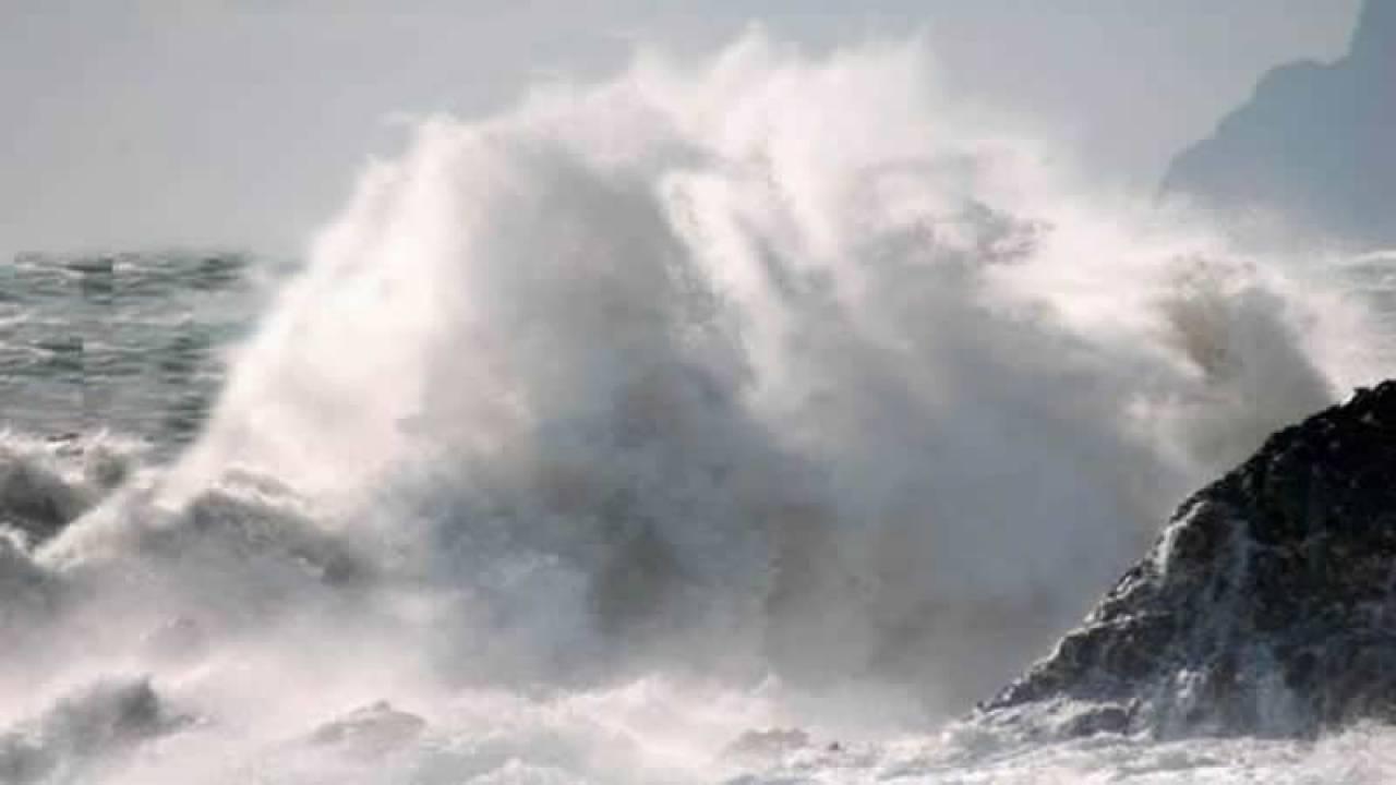 vento e mare agitato