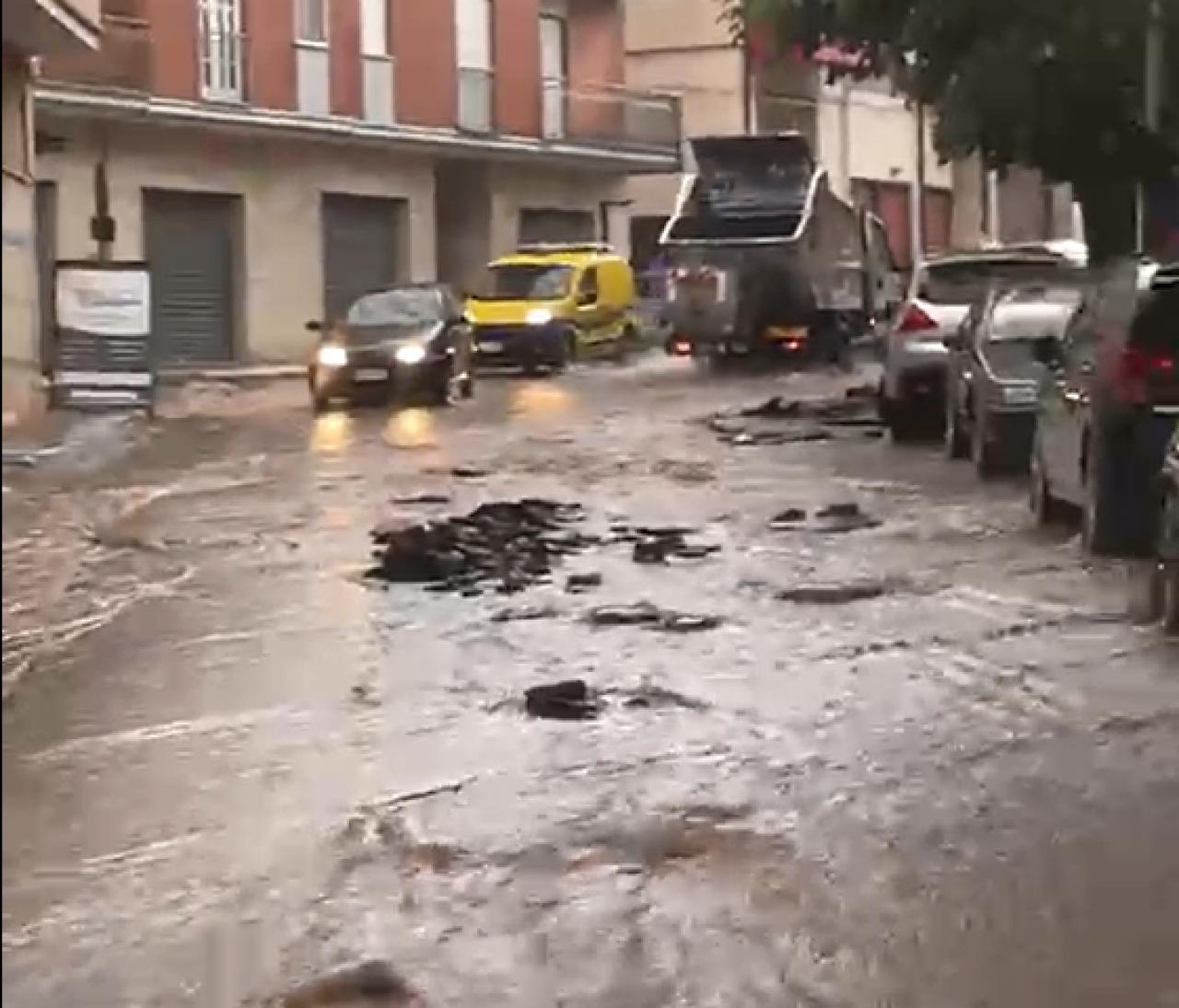 Via Amendola - San Marco in Lamis (Fonte Foggiatoday)