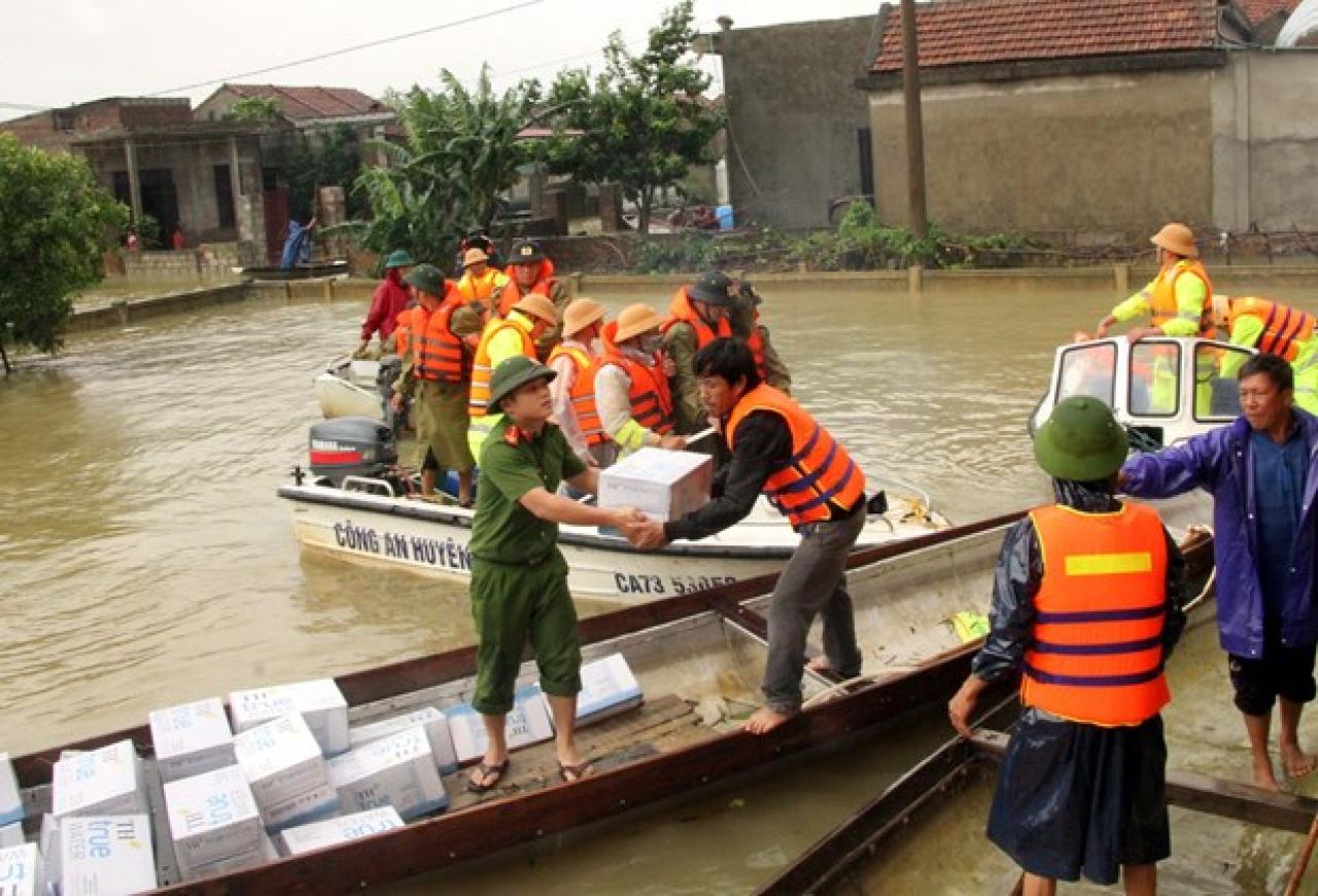 Vietnam, alluvioni nella provincia di Quang Binh (Foto: Foto: VNA)