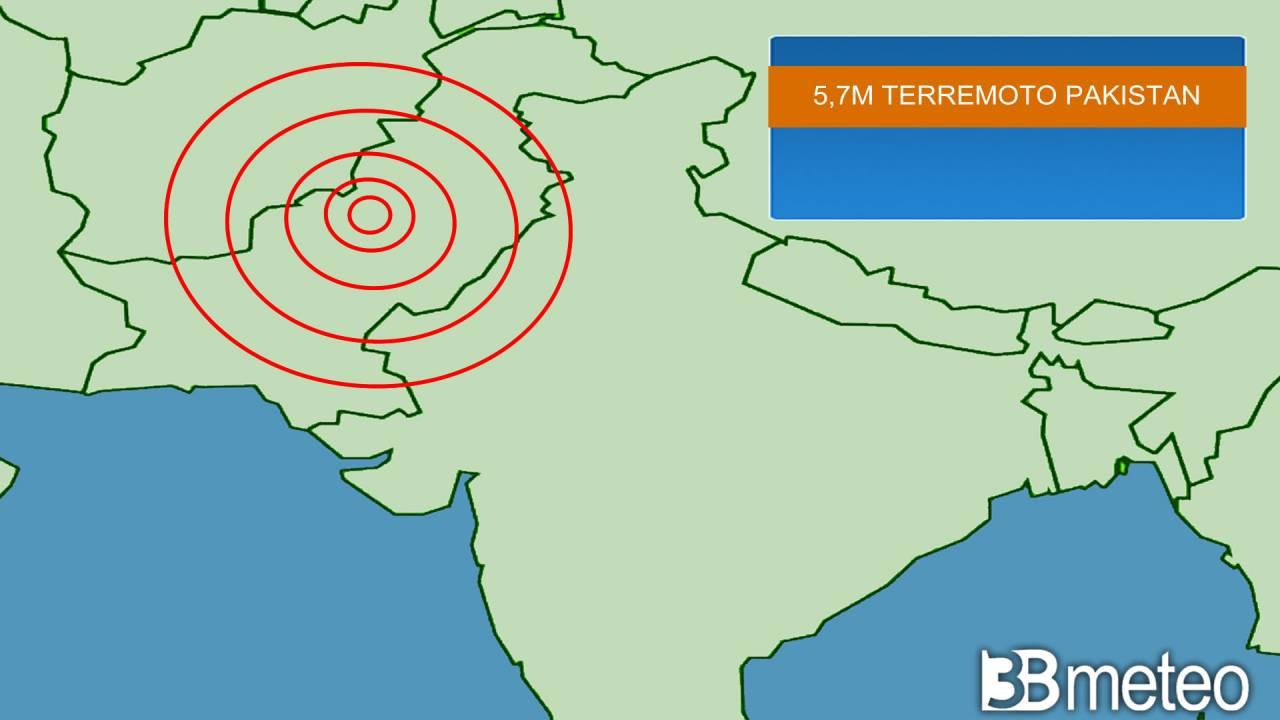 violento terremoto in Pakistan