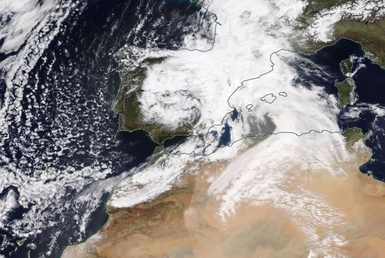 Vortice freddo sulla Spagna