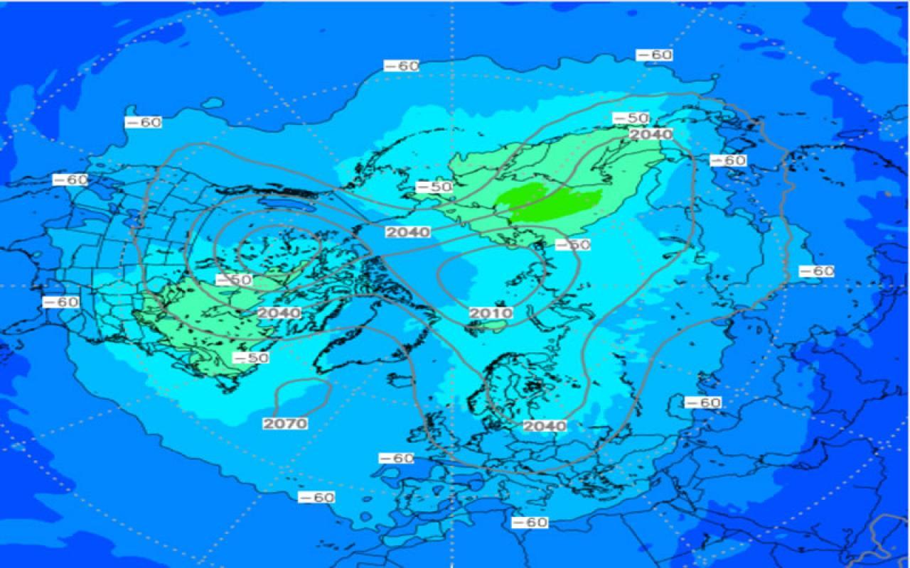 vortice polare a 50 hPa