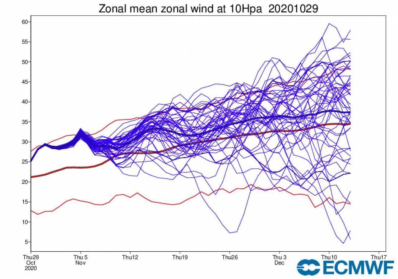 vortice polare stratosferico forte