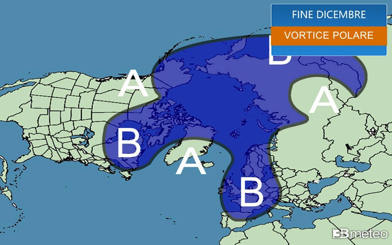 vortice polare troposferico