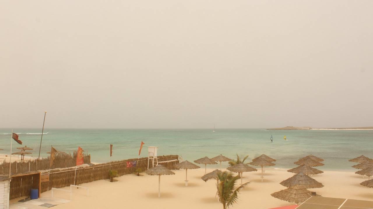 webcam da Tortuga Beach Boa Vista, Capo Verde