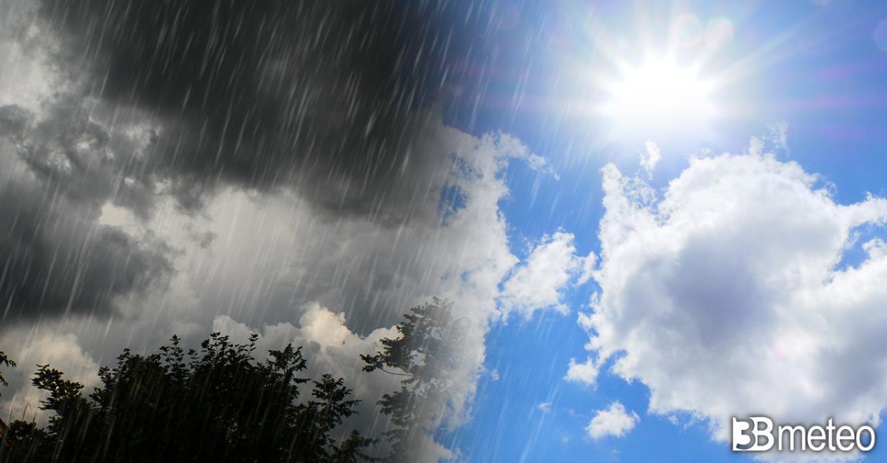 Weekend 1-2 maggio tra sole e qualche temporale