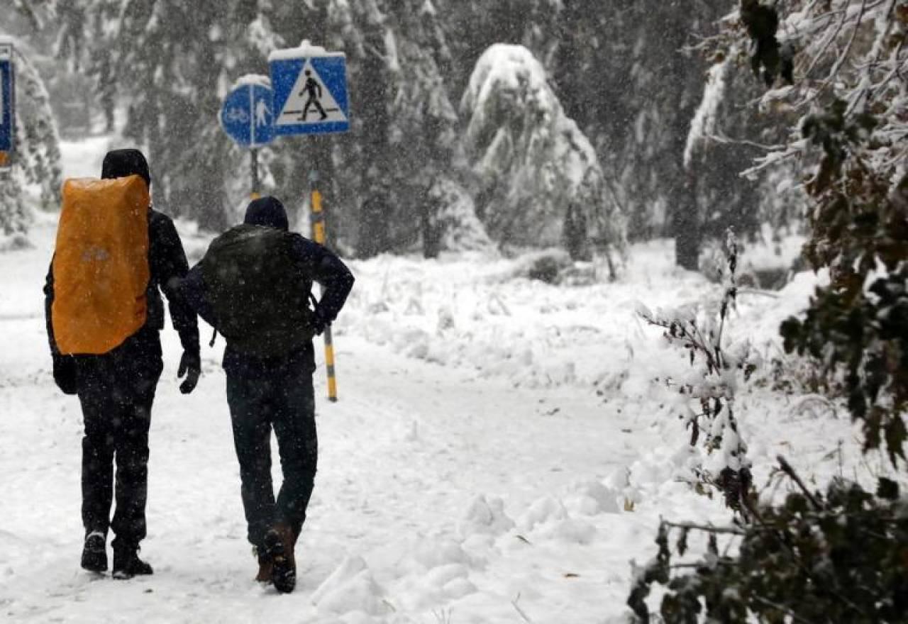 Zakopane imbiancata - Polonia (Fonte: CDE NEWS)