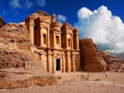 Paesaggio della Giordania