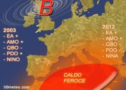confronto estate 2003 CONTRO 2012