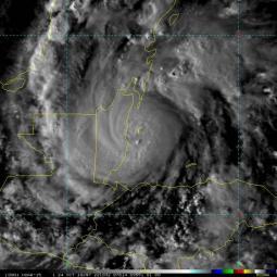 Bellissima immagine da Satellite dell\'Uragano