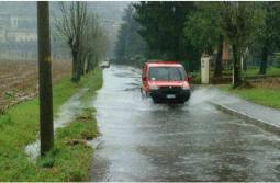 Forti temporali e allagamenti ieri sera sull'alta Lombardia