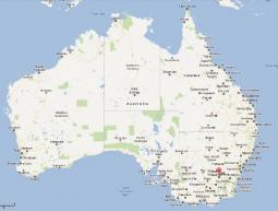 Wagga Wagga, cittadina nel Sud-Est dell'Australia