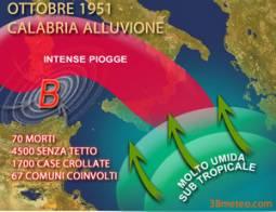 Ricorre in questo periodo il 60° anniversario dell'alluvione in Calabria